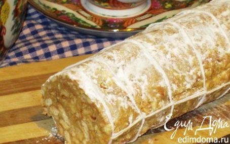 Рецепт Салями с белым шоколадом и фундуком