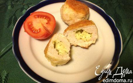 Рецепт Куриные котлеты с сыром в мультиварке в мультиварке