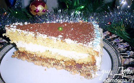 """Рецепт Торт """"Шифон в шоколаде"""""""