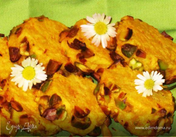 Закусочное печенье «Сабле» с фисташками