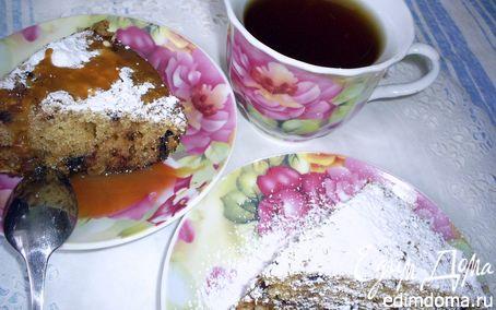 Рецепт Быстрый манник с шоколадом и изюмом в мультиварке