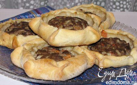 Рецепт Арабские открытые пирожки с мясом