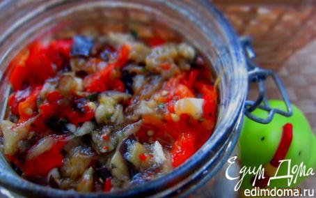 Рецепт запеченные баклажаны и перцы