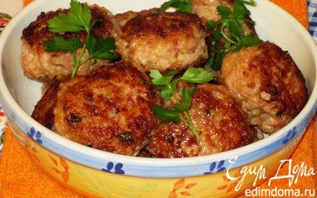 Рецепт Мясные биточки с рисом