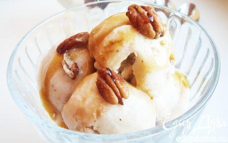 Рецепт Легкое банановое мороженое с кленовым сиропом