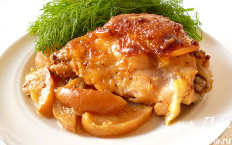 Рецепт Куриные бедрышки с секретом