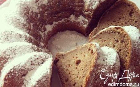 Рецепт Ромовый пирог с бананами из цельнозерновой муки