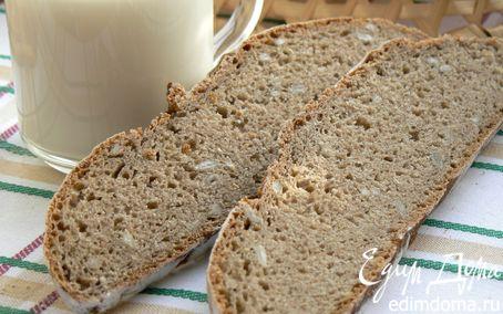 Рецепт Хлеб ржаной на закваске с семечками