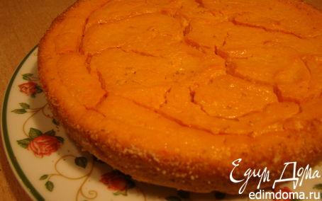 Рецепт Творожный пудинг с морковью