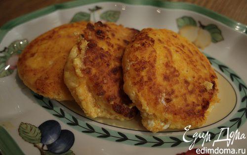 Рецепт Сырники с морковью