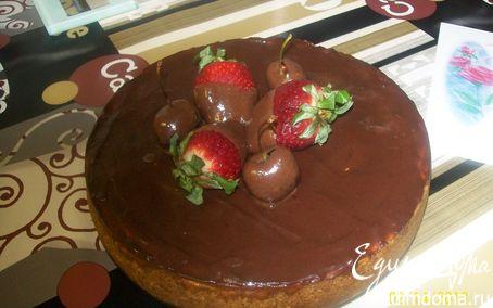 Рецепт Чизкейк с шоколадным топпингом