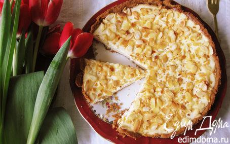 Рецепт Чизкейк с белым шоколадом и малиновым вареньем