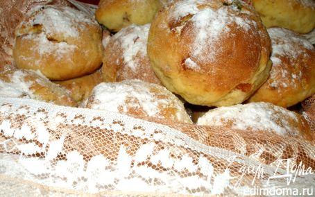 Рецепт Творожные булочки «2х2»... по мотивам штолленовых конфет