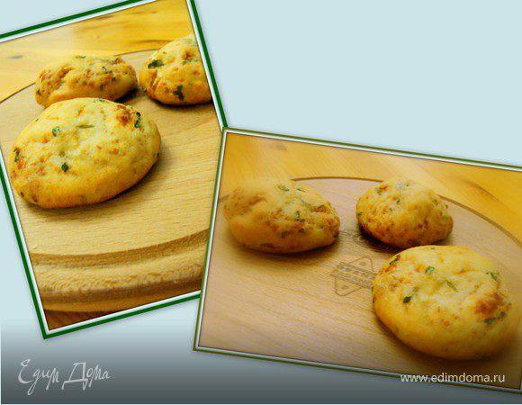 Сырные булочки с зеленью
