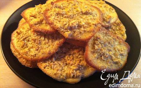 Рецепт Овсяное печенье с миндалем