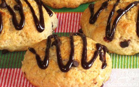 Рецепт Йогуртовое печенье с шоколадными каплями