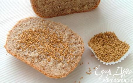 Рецепт Хлеб на темном пиве с горчицей в хлебопечке