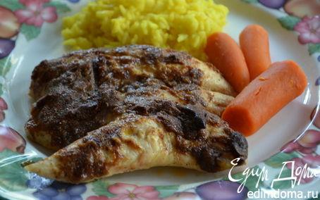 Рецепт Пряные куриные грудки в майонезе