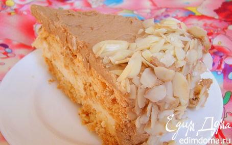 Рецепт Миндальный торт