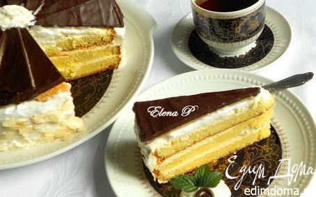 Рецепт Марципаново-цитрусовый торт