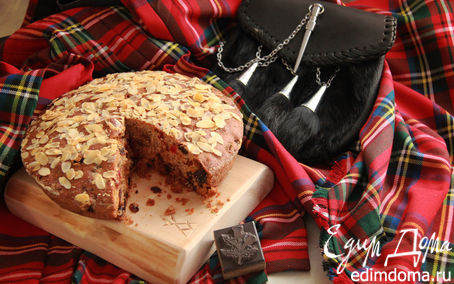 Рецепт Шотландский кекс «Данди» (Dundee Cake)