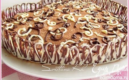 Рецепт Лимонно-шоколадный десерт без выпечки