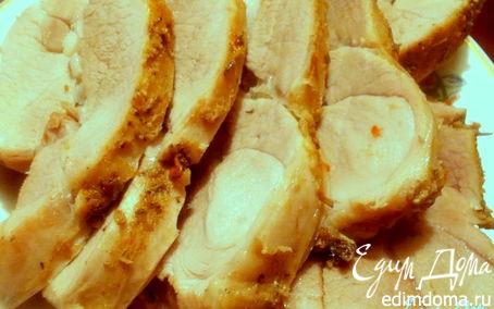 Рецепт Пряная свинина с чесноком и оливковым маслом