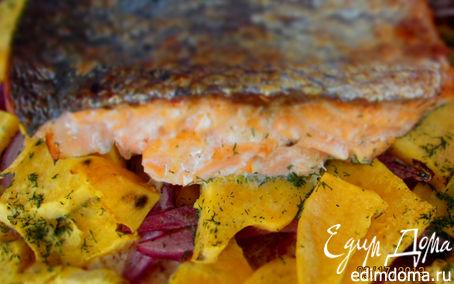 Рецепт запеченная рыбка fi