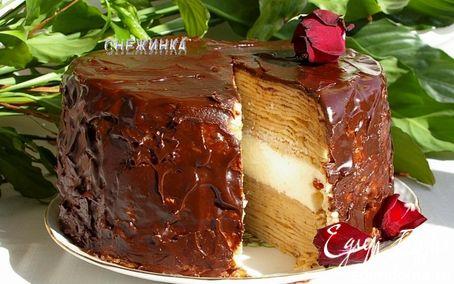 Рецепт Торт с суфле «ПРОЩАЙ, МАСЛЕНИЦА»