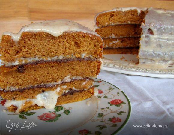 Пряный Тыквенный торт