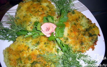 Рецепт Картофельные лепешки с сыром и зеленью