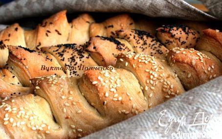 Рецепт Багеты пшенично-ржаные