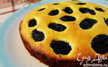 """Рецепт – На скорую руку: """"Правильный"""" немецкий рассыпчатый пирог с черносливом"""