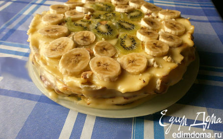 Рецепт Тортик на сковороде