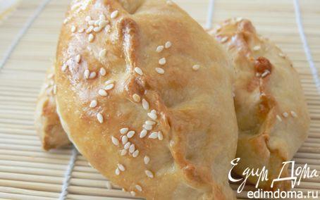 Рецепт Закусочные пирожки с брынзой и зеленью
