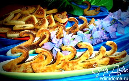 """Рецепт """"Гуси-лебеди"""", МК по приготовлению печенья с корицей из творожного теста"""