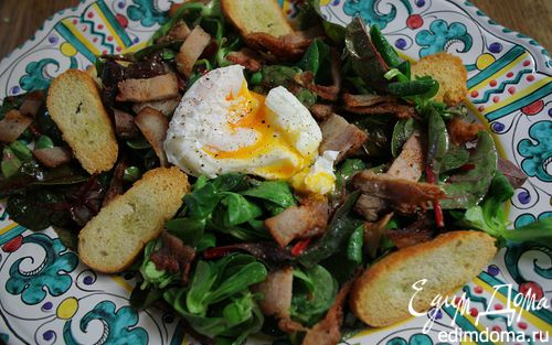 Рецепт Лионский салат