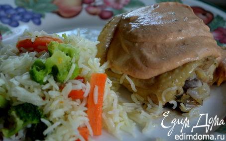 Рецепт Куриные бедрышки в уксусно-чесночном соусе