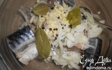 Рецепт Маринованная скумбрия