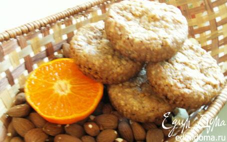 Рецепт овсяное печенье с курагой и белым шоколадом