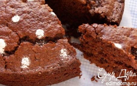 Рецепт Постный шоколадный пирог с овощами