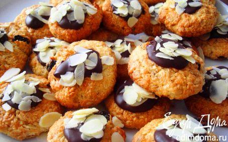 Рецепт Овсяно-кокосовое печенье