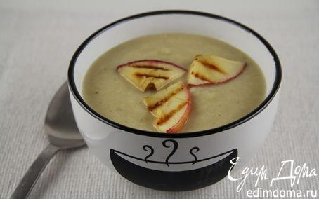 Рецепт Суп-пюре из сельдерея с яблоком, сидром и чеддером