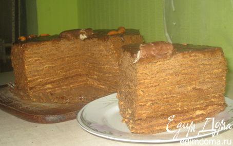 """Рецепт Торт """"Кофе в шоколадных песках"""""""