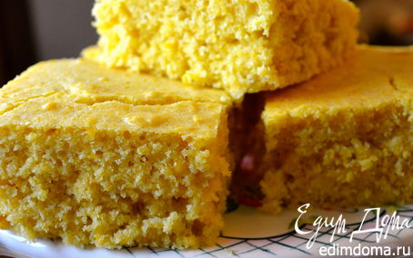 Рецепт Кукурузная коврижка (CORNBREAD)