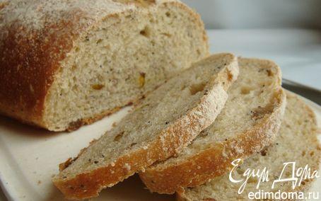 Рецепт Зерновой хлеб на зрелом тесте из 4 видов муки