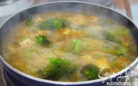 Рецепт Брокколи, тушенная с тофу