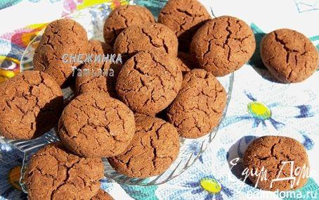 Рецепт Шоколадное печенье на гречневой муке