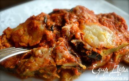 Рецепт Пармиджана из баклажанов