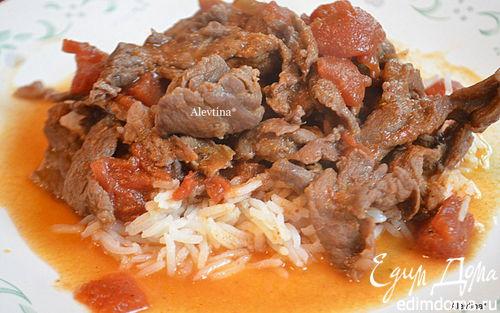 """Рецепт Мясо """"Пикада де Карне"""""""